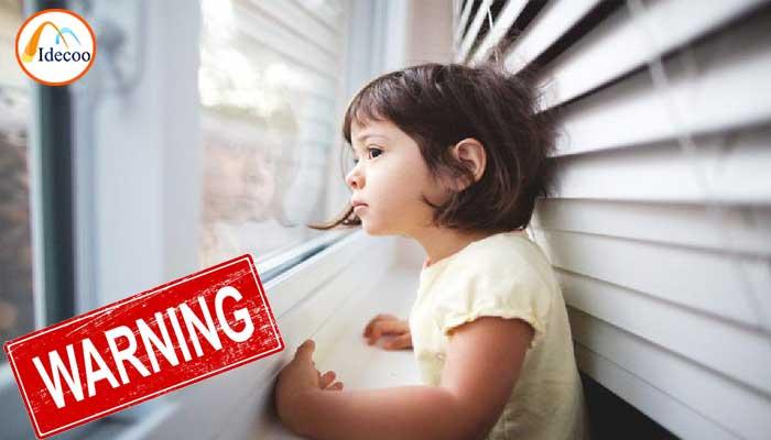 خطرات پرده های مکانیزمی برای کودکان