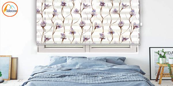 پرده مدرن زبرا برای اتاق خواب